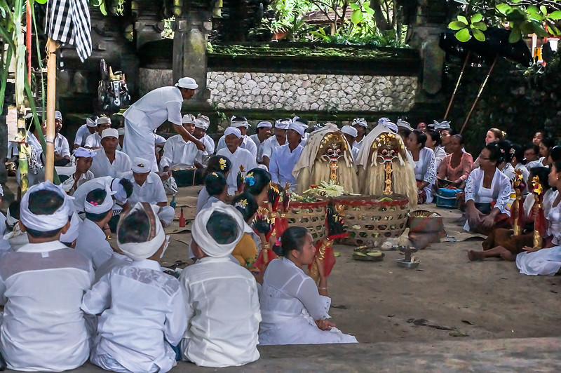 Balinese ceremony , the day before Niepy day