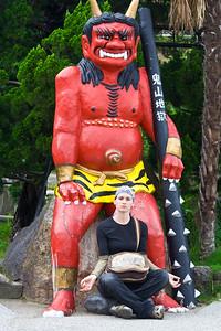 07JP498 Art Beppu Japan Kyushu Sculpture