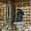 """<a href=""""http://www.alamy.com/search-results.asp?qt=BJ9W4T"""" Title=""""Click to buy this image at Alamy"""" Target=""""_blank"""">Click here to buy at Alamy. Keywords: Buddhism Japan Kansai Kyoto Rabbit Statue Temple MyID: 07JP352</a>"""