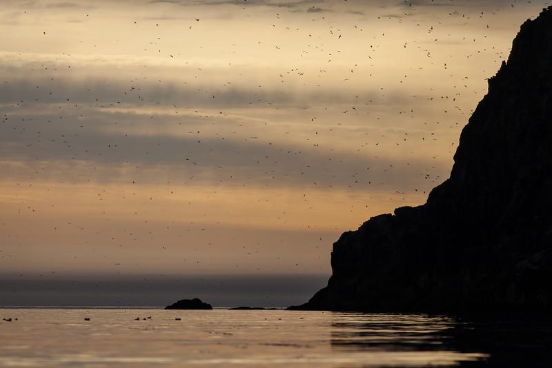 Dawn at Ekama island