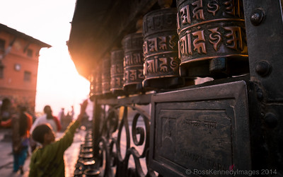 Prayer Wheels, Swayambunath