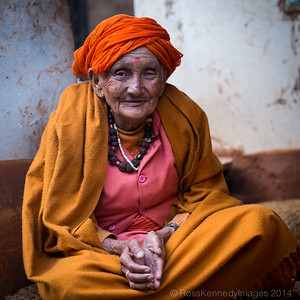 Female Sadhu, Pashupatinath Temple