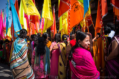 Parade in Durbar Square