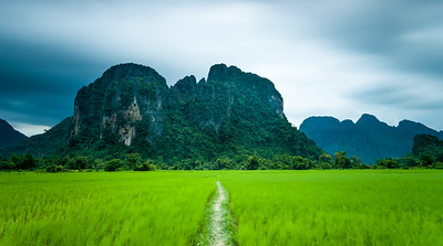 Vang Vieng, long exposure