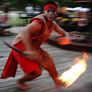 Fire Dancer, Kota Kinabalu