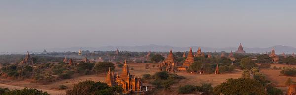 Shwesandaw Sunrise, Bagan