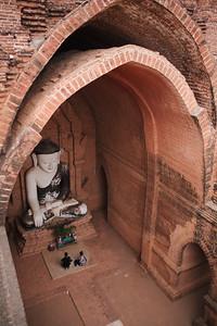 Pyathada Buddha, Bagan