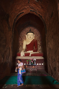 Dhammayangyi Buddha, Bagan