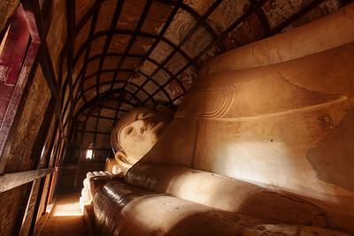 Reclining Buddha, Shinbinthalyaung, Bagan