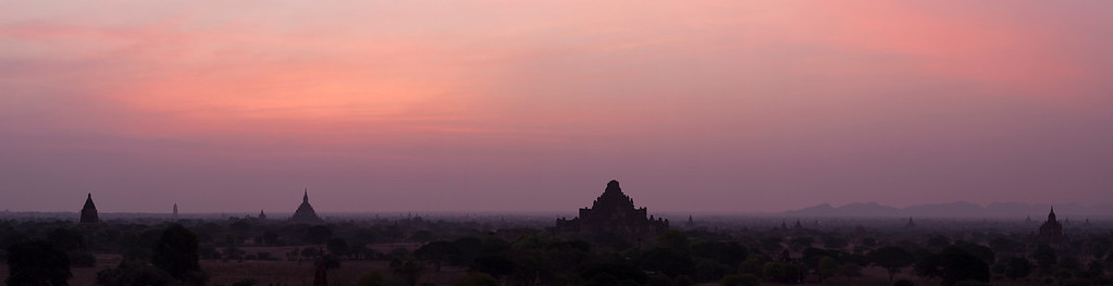 Dawn over the Plains of Bagan