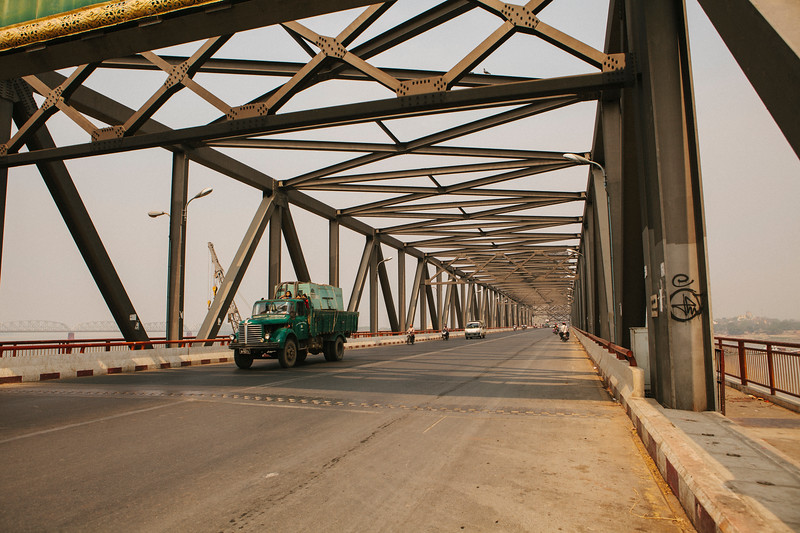 Bridge, Irrawady, Mandalay