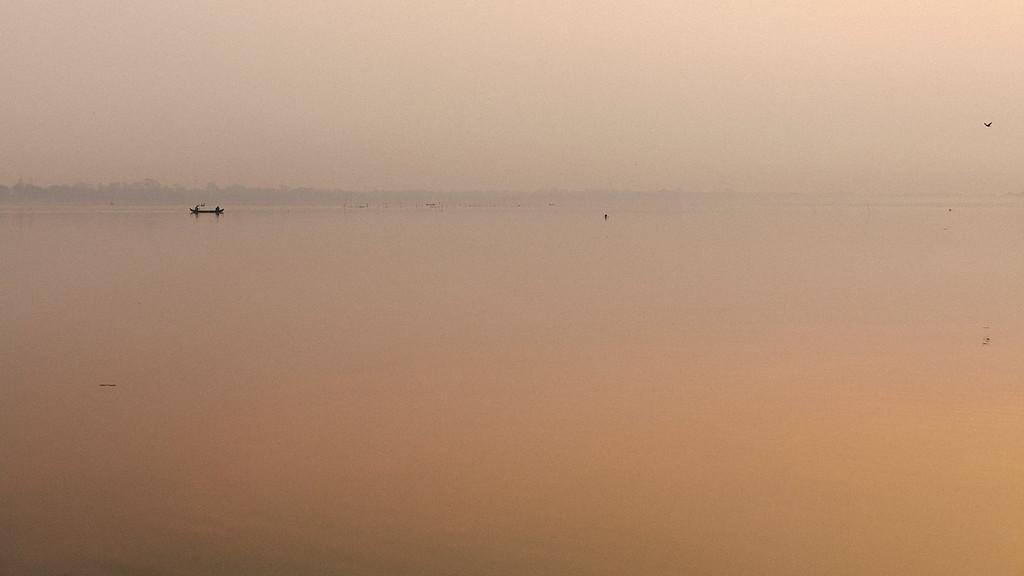 Dawn Fishing, Taungthaman Lake, Amarapura