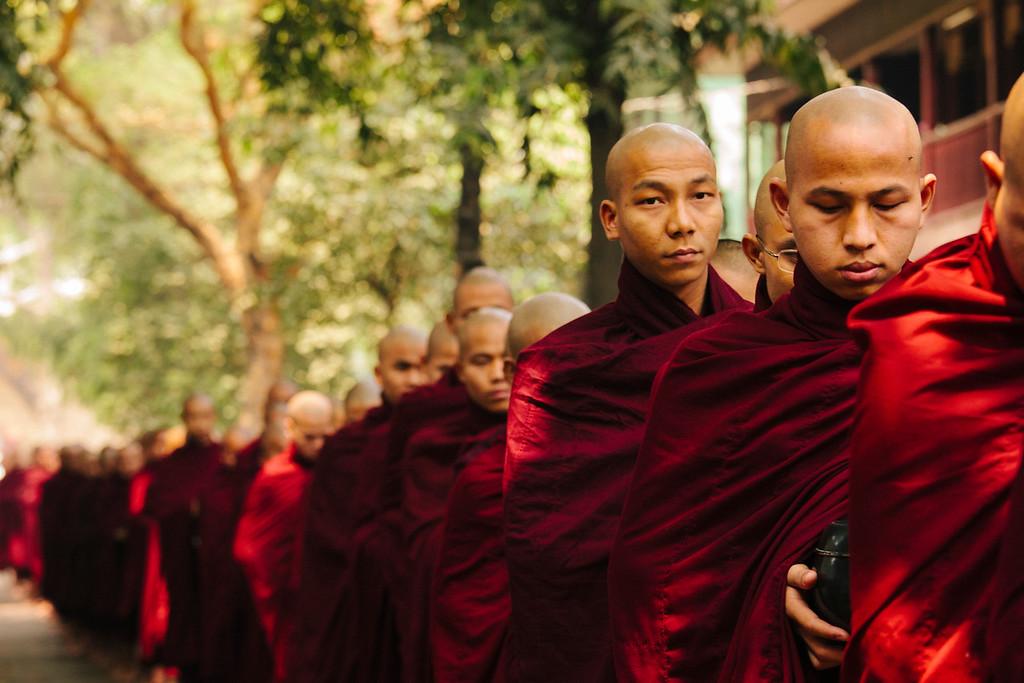 Calm, Mahagandayon Monastery, Amarapura