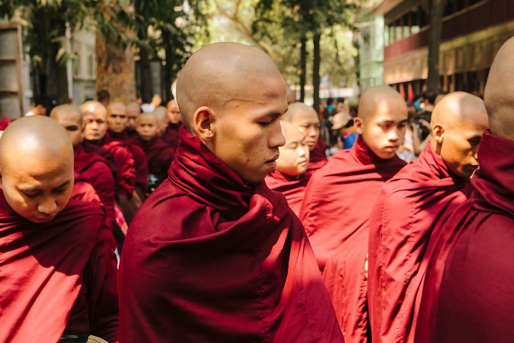 Contemplation, Mahagandayon Monastery, Amarapura