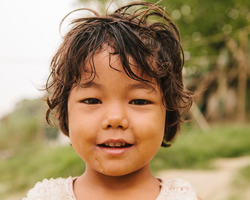 Toddler, Irrawady River, Mandalay