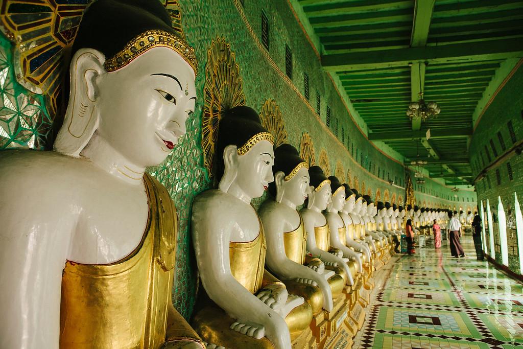 U Min Thonze Cave, Sagaing