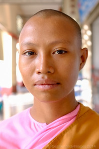 Buddhist Nun in Yangon