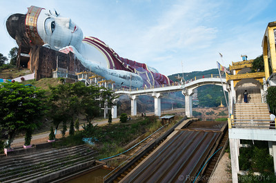 Worlds Largest Reclining Buddha, near Mawlamyine