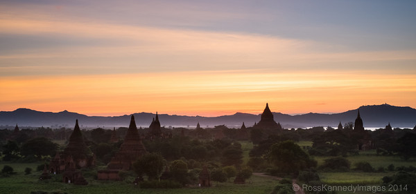 Bagan - Valley of the Temples