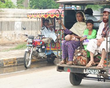 06IP507 Auto-Rickshaw Lahore Pakistan Punjab Transport
