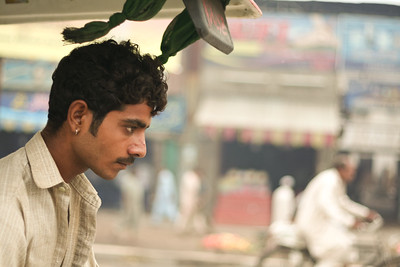 Click here to buy at Alamy. Keywords: Auto-Rickshaw Driver Lahore Pakistan Punjab Street MyID: 06IP501