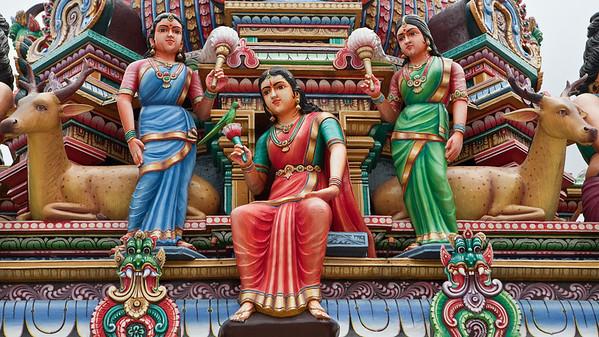 Gopuram, Sri Mariamman Temple, Singapore