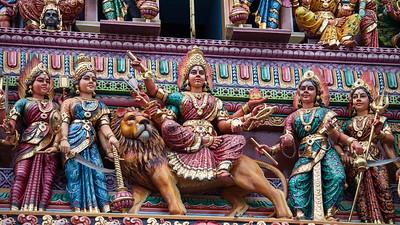 Sri Veeramakaliamman Temple, Little India, Singapore