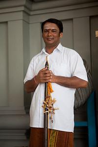 Pipe Player, Sri Thandayuthapani Temple