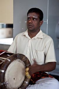 Drummer, Sri Thandayuthapani Temple