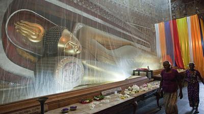 Reclining Buddha, Kelaniya Shrine, Colombo