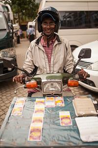Lottery Ticket Seller, Kandy