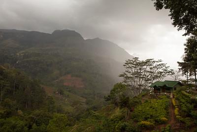 Approaching Rain Storm, Nuwara Eliya