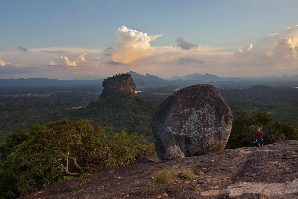 Sigiriya from Pidurangala