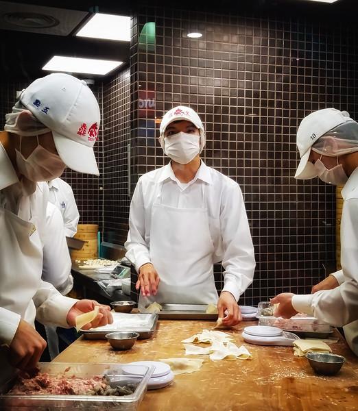 dumpling prep
