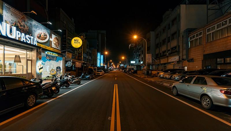 Hsinchu streets by night