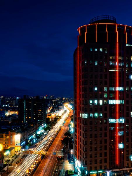 night in Hsinchu City