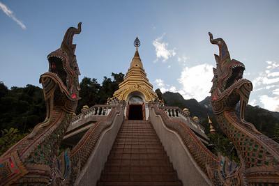 Makara, Wat Tham Pha Plong, Chiang Dao