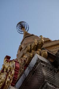 Chedi, Wat Tham Pha Plong, Chiang Dao