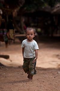 Young Karen Boy, Chiang Dao