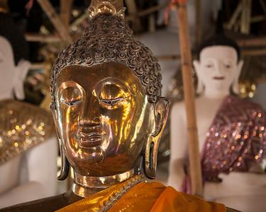 Buddha, Wat Inthakhin Saduemuang, Chiang Mai