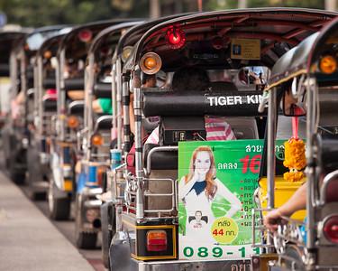 Tuktuk, Three Kings Monument, Chiang Mai