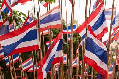 Nationalism, Wat Phan Tao, Chiang Mai