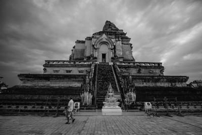 Chedi, Wat Chedi Luang, Chiang Mai