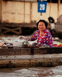 Noodles on the Go, Cai Rang, Mekong Delta