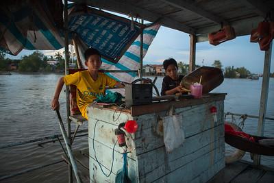 Young Captain, Mekong Delta