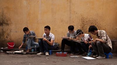 Art Class, Old Quarter, Hanoi