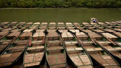 Boat Park, Tam Coc, Vietnam