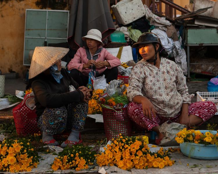 Flower Sellers, Hoi An Market