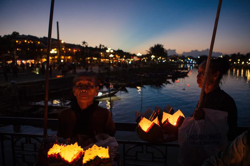 Floating Lanterns, Hoi An