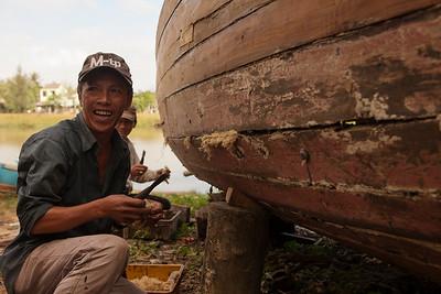 The Boat Builder, Cam Kim